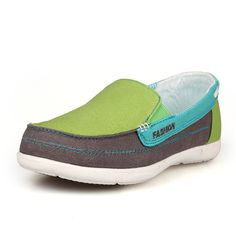 Wide Women Shoes Spring Summer Sapato Feminino Flats Canvans Shoes, Mixed Color Women Casual Shoes Size 35-40