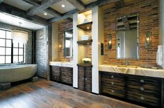 20 Brilliant Ways to Incorporate Brick Indoors | LuxeSource | Luxe Magazine - The Luxury Home Redefined