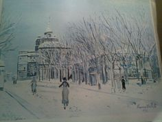 utrillo paintings | Hi, I found a painting of Maurice Utrillo V,1935 the title ...
