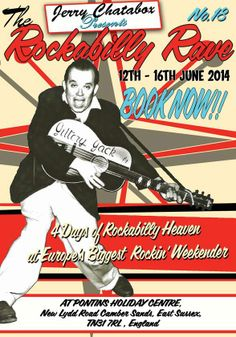 Rockabilly Rave. 12th-16th June 2014. UK.