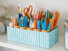 recycler les boîte à chaussures | idées rangement pour recycler la boite à chaussures - Organisation ...