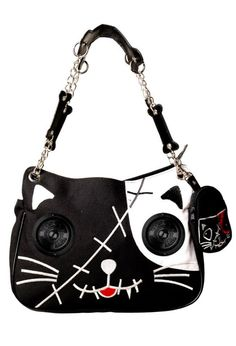 KITTY BAG with speakers. Hangry and Angry