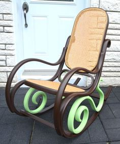 vintage rocking chair .. new look for sale