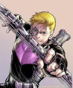 Hawkeye -http://kingbirdkathy.tumblr.com/image/134607011147