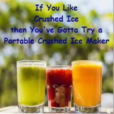 Portable Ice Maker For The Home