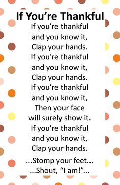 Preschool @ Super Simple Thanksgiving Activities - uplifting anchor Thanksgiving is around the corner. We want plenty of time to celebrate with our preschooler! Here are 6 simple ideas to share with your little one. Songs For Toddlers, Kids Songs, Preschool Songs, Preschool Lessons, Kindergarten Songs, Preschool Classroom, Circle Time Songs, Professor, Just In Case