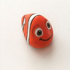 Sometimes in life you get very lucky, like this rock. He used to be just a rock but now he is NEMO. #art #artist #artwork #artwork #arte #artsy #artoftheday #artistic #illustration #creative #cartoon #drawing #paintedrocks #paintedstones #nemo
