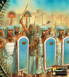 Ancient Egyptian army of the Bronze AgeYou can find Bronze age and more on our website.Ancient Egyptian army of the Bronze Age Ancient Egyptian Dress, Bronze Age Civilization, Ancient History, European History, Ancient Aliens, American History, Ancient Near East, Ancient Civilizations, Samurai