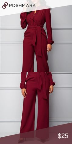 Size XL jumpsuit. Looks exactly as pictured. I love the material. I purchased brand new but it fits like a large. My hips are way too big. Other