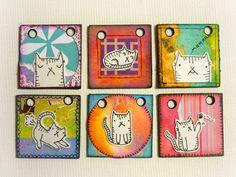 Oops, I Craft My Pants: Kitties Inchies Book