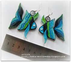 quilling fish  #quill art