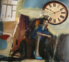 "Marina Mirkovic; Assemblage / Collage, Mixed Media ""composition 2"""