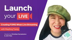 How to Create FOMO For Live Streaming and Virtual Events with Jim Fuhs and Christian Karasiewicz from the Laucn Your Live Show Live Show, Interview, The Creator, Product Launch, Christian, Events, Create, Christians