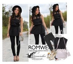 """""""Romwe II - 8"""" by selmica11 ❤ liked on Polyvore"""