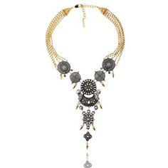 Peter Lang Zena shield necklace