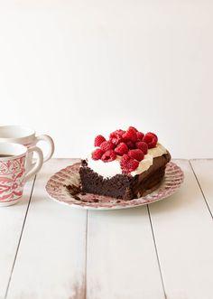 Flourless Salted Chocolate Cake - Gluten Free