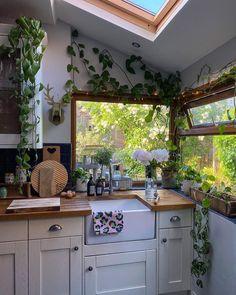 Dream Home Design, House Design, Decor Interior Design, Interior Decorating, Modern Interior, Earthy Kitchen, Earthy Home Decor, Bohemian Kitchen Decor, Hippie Kitchen