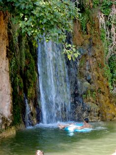 #Atle is the prettiest village in the Algarve and you can find this #waterfall, Queda #Vigario, 2km just outside the village.  Enjoy a day out here in the cool clean water with your lilos and inflatables and picnic on the grass.  Take your own umbrella as you will not find much natural shade.  http://www.greatholidaylocations.com/things-to-do/amble-guides/alte-algarve/