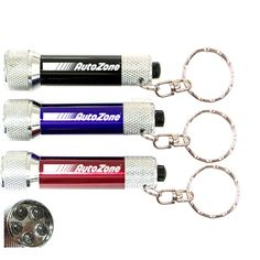 Promotional super bright LED flashlight with swivel split keyring is a right choice for small budget marketers who are working hard to hit the roof with their promotional campaigns. This super bright LED flashlight sheds light on their Bright Led Flashlight, Key Tags, Metallic Colors, Laser Engraving, Promotion, Great Gifts, Personalized Items, Swag