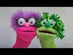 Manualidades : Títere con calcetín - Manualidades para todos - YouTube
