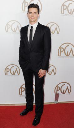 El atractivo actor Matt Bomer, en la entrega de premios del Sindicato de Productores de Estados Unidos #actores #actors #people #celebrities