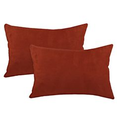 soft decorative pillows. Passion Suede Brick Simply Soft S backed Fiber Pillows  Set of 2 Faux 26 inch Oversize Decorative