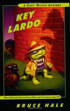 Key Lardo: A Chet Gecko Mystery by Bruce Hale, http://www.amazon.com/dp/0152052356/ref=cm_sw_r_pi_dp_q2UKpb1PWTQEW