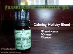 A great calming blend of essential oils