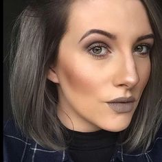 Thank you @ellie_robs13 for sharing her seriously stylish hair using Metallic Glory in Graphite Grey #rg