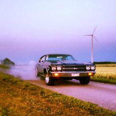 Smoking hot Chevy Chevelle!