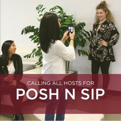 Posh N Sip — Hosts Wanted! #2 In the early days of Poshmark, Posh Parties were small get togethers in our office. We used them to introduce the concept of Poshmark to our friends. Now, five years and millions of passionate Poshers later, we're returning to our roots. Posh N Sip is a nationwide event where Poshers across the country host their own small get togethers in order to help their friends get started on Poshmark. Learn more by visiting blog.poshmark.com. The next Posh N Sip happens…