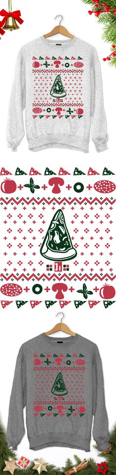 Pizza Christmas Tree - Limited edition. Order 2 or more for friends/family & save on shipping! Makes a great gift!