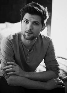 "Adam Scott. Didn't realize how much I LOVED him until I watched ""Bachelorette"" . so gorgeous!"