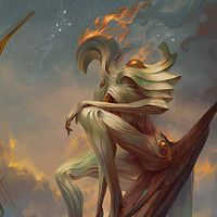 Suchlaph, Angel of Verdancy ---- The wind passes the grass in waves, carrying with it the seed of growth. Flowing across the landscape and burrowing into the cool soil. Plantlife seeks the sky and with it the dominion of Suchlaph expands. Let your roots settle, it is the season for blossoming.    www.angelarium.net