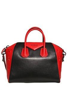 Givenchy Medium Antigona Stars Top Handle 2725 Red Purses