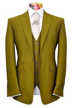 The Ashmore Pistachio Sorbet Suit