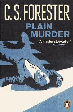 Nick Morley / Linocut Boy ~Plain Murder (Book Cover), Linocut Illustration