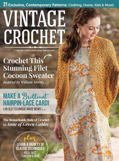 from Vintage crochet vintage crochet Crochet Books, Love Crochet, Irish Crochet, Crochet Lace, Crochet Wraps, Knitting Books, Beautiful Crochet, Knitting Magazine, Crochet Magazine