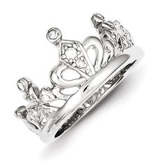 - .925 Sterling Silver - Width of Band :7 mm Stone Type: Cubic Zirconia (CZ) Stone Creation Method:Synthetic Stone Treatment:Synthetic Stone Color:White