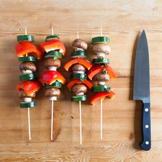 Add a little color and a lot of flavor to your skewers.