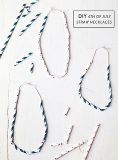 fourth of july necklaces