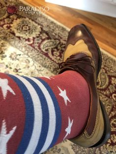 #ParadisoInsurance #REDFriday Red Friday, Insurance Agency, Cool Socks, Loafers Men, Oxford Shoes, Dress Shoes, Pairs, How To Wear, Men's Loafers