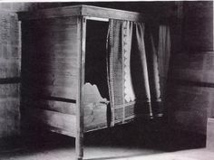 A traditional Finnish farmhouse Bed