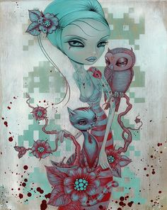Painting by Caia Koopman