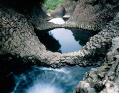 Wailuku River, Boiling Pots.  Feeling a little homesick today... this place was my childhood.