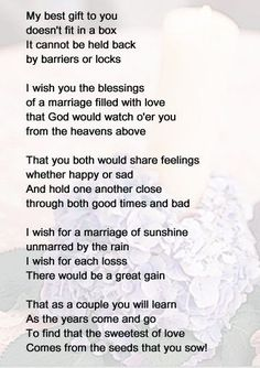 Bridal Shower Game Ideas The Knot Wedding PoemsWedding ReadingsWedding SpeechesLove Poems For