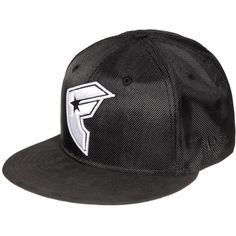 52567dc7f3f Famous Stars Straps BOHlistic Snapback Hat (Black) (£31) ❤ liked on  Polyvore featuring accessories