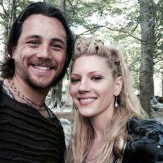 Ben Robson & Katheryn Winnick - Kalf and Lagertha