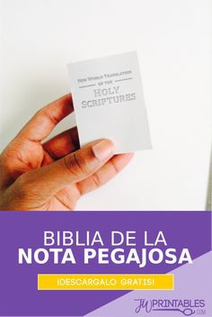 NWT Sticky Notes - Spanish Pioneer School Gifts, Pioneer Gifts, Caleb Y Sofia, Jw Printables, Jw Bible, Jw Convention, Jw Pioneer, Jw Gifts, Love Never Fails