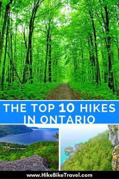 Here are 10 of the best hiking trails in Ontario ranging from a km day hike to the epic 100 km La Cloche Silhouette Trail in Killarney Provincial Park. Toronto, Ontario Travel, Ontario Camping, Voyage Canada, Thing 1, Visit Canada, Hiking Tips, Hiking Spots, Best Hikes